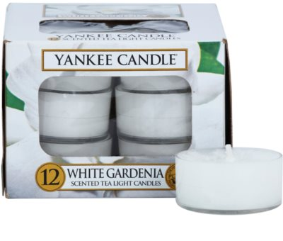 Yankee Candle White Gardenia čajová svíčka
