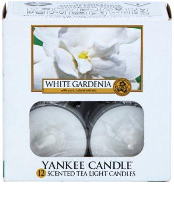 Yankee Candle White Gardenia vela do chá 2