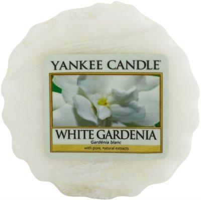 Yankee Candle White Gardenia cera derretida aromatizante