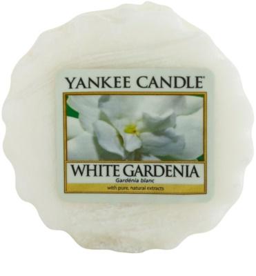 Yankee Candle White Gardenia cera para lámparas aromáticas