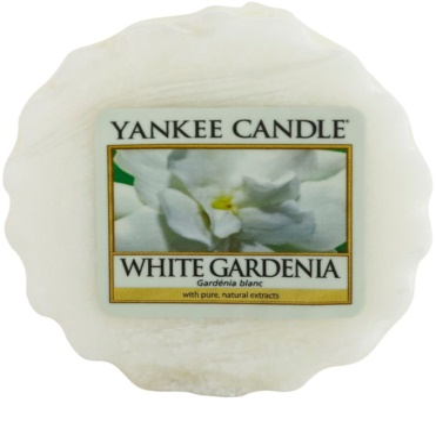 Yankee Candle White Gardenia illatos viasz aromalámpába