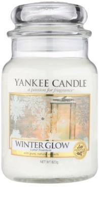 Yankee Candle Winter Glow vela perfumado  Classic grande