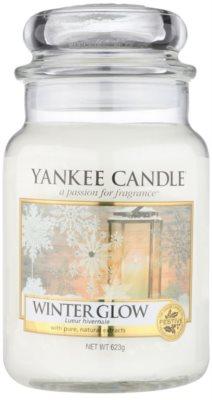 Yankee Candle Winter Glow vonná svíčka  Classic velká