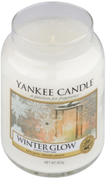 Yankee Candle Winter Glow vela perfumado  Classic grande 1