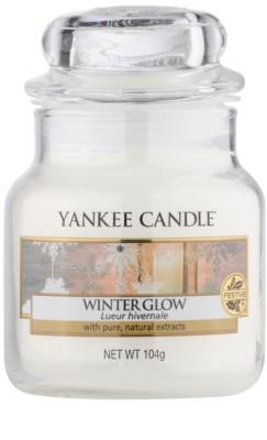 Yankee Candle Winter Glow Duftkerze   Classic medium