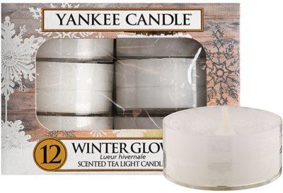 Yankee Candle Winter Glow vela de té