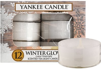 Yankee Candle Winter Glow чайні свічки