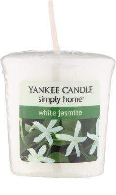 Yankee Candle White Jasmine votivní svíčka