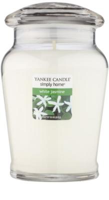 Yankee Candle White Jasmine Scented Candle  Medium