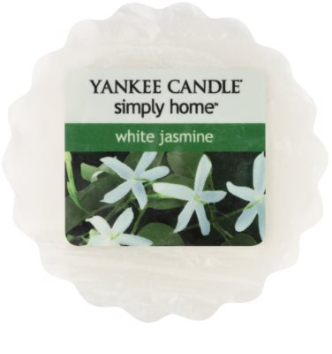 Yankee Candle White Jasmine cera para lámparas aromáticas