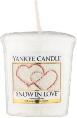 Yankee Candle Snow in Love votivní svíčka