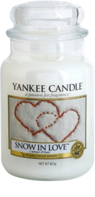 Yankee Candle Snow in Love Duftkerze   Classic groß