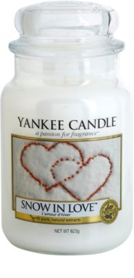 Yankee Candle Snow in Love illatos gyertya   Classic nagy méret