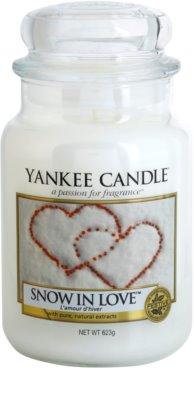 Yankee Candle Snow in Love lumanari parfumate   Clasic mare