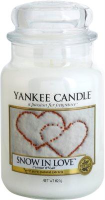 Yankee Candle Snow in Love vela perfumada   Classic grande