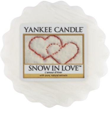Yankee Candle Snow in Love vosek za aroma lučko