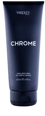 Yardley Chrome gel za prhanje za moške