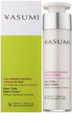 Yasumi Anti-Aging regenerujący krem na noc o działaniu przeciwzmarszczkowym 1