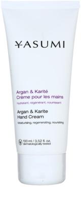 Yasumi Body Care Argan & Karite tápláló kézkrém