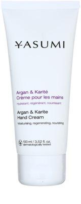Yasumi Body Care Argan & Karite подхранващ крем за ръце