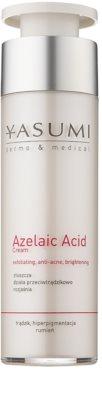 Yasumi Dermo&Medical Azelaic Acid crema calmanta pentru piele sensibila predispusa la acnee