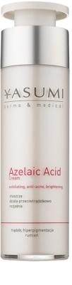 Yasumi Dermo&Medical Azelaic Acid die beruhigende Creme für empfindliche Haut mit Neigung zu Akne