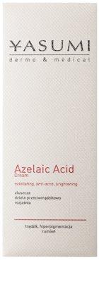 Yasumi Dermo&Medical Azelaic Acid die beruhigende Creme für empfindliche Haut mit Neigung zu Akne 2