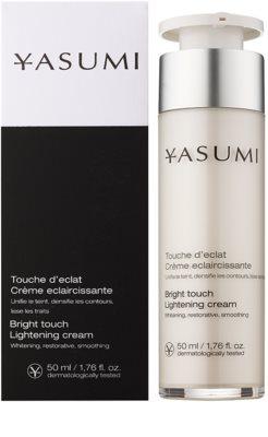 Yasumi Discoloration aufhellende Creme gegen Pigmentflecken 1