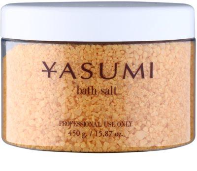 Yasumi Gold Sensation koupelová sůl s vůní šampaňského