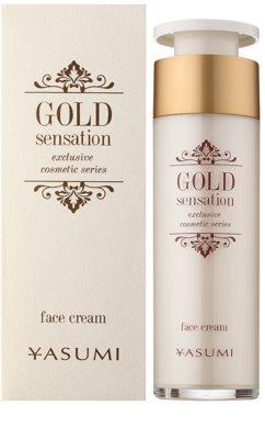Yasumi Gold Sensation crema facial con partículas de oro 50+ 1