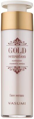 Yasumi Gold Sensation pleťové sérum se zlatými částečkami 50+