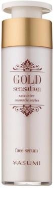 Yasumi Gold Sensation serum do twarzy z cząstkami złota 50+
