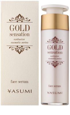 Yasumi Gold Sensation pleťové sérum se zlatými částečkami 50+ 1