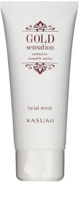 Yasumi Gold Sensation Scrub facial cu particule de aur
