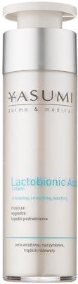 Yasumi Dermo&Medical Lactobionic Acid crema facial para pieles sensibles con tendencia a las rojeces