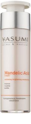 Yasumi Dermo&Medical Mandelic Acid világosító hidratáló krém a bőr felszínének megújítására
