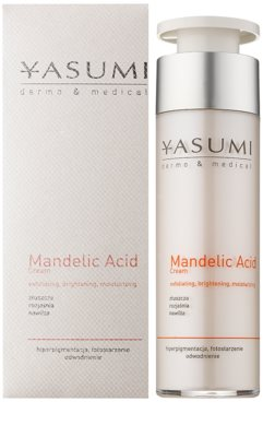 Yasumi Dermo&Medical Mandelic Acid világosító hidratáló krém a bőr felszínének megújítására 1