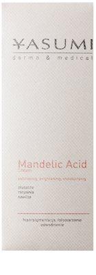 Yasumi Dermo&Medical Mandelic Acid világosító hidratáló krém a bőr felszínének megújítására 2