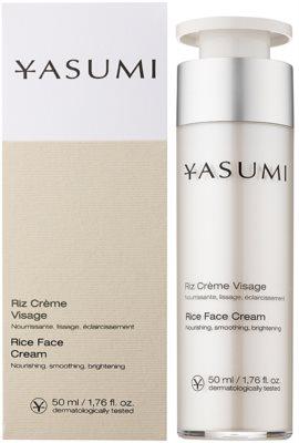 Yasumi Moisture crema nutritiva con efecto regenerador  para pieles deshidratadas y secas 1