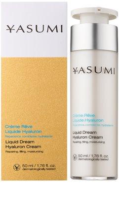 Yasumi Moisture hydratační krém pro suchou pleť s kyselinou hyaluronovou 1