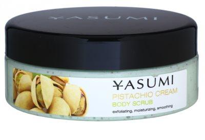 Yasumi Body Care Pistachio Cream exfoliante corporal suavizante