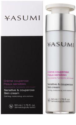 Yasumi Anti-Redness Crema calmanta pentru piele sensibila predispusa la roseata 1