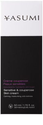 Yasumi Anti-Redness Crema calmanta pentru piele sensibila predispusa la roseata 2