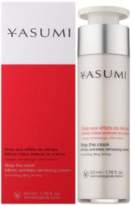Yasumi Anti-Wrinkle kisimító krém mimikai ráncok ellen 1