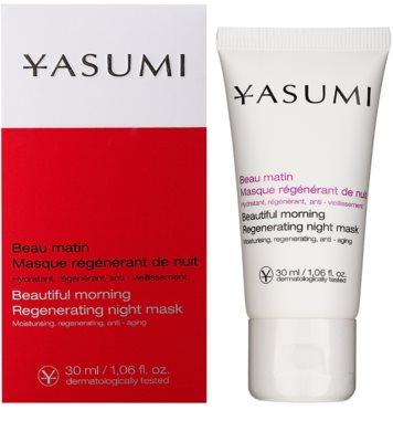Yasumi Anti-Wrinkle нощна регенерираща маска с изглаждащ ефект 1