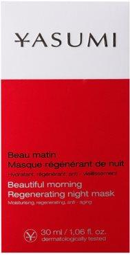 Yasumi Anti-Wrinkle нощна регенерираща маска с изглаждащ ефект 2