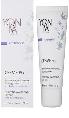 Yon-Ka Age Defense mattosító krém zsíros bőrre 1