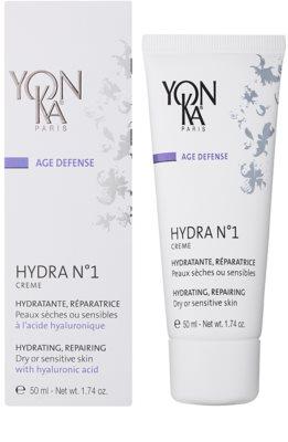 Yon-Ka Age Defense N°1 krem nawilżający z działaniem odnawiającym do skóry suchej i wrażliwej 1