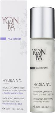 Yon-Ka Age Defense N°1 feuchtigkeitsspendendes Fluid mit Matt-Effekt für normale bis fettige Haut 2