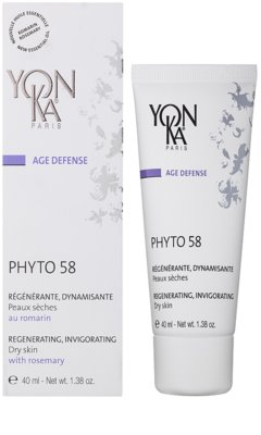 Yon-Ka Age Defense Phyto 58 regenerierende Nachtcreme mit belebender Wirkung für trockene Haut 1